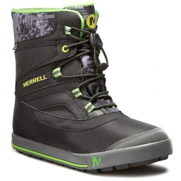 Merrell MC5597 SNOW BANK Waterproof Kids Winter Boots -32C