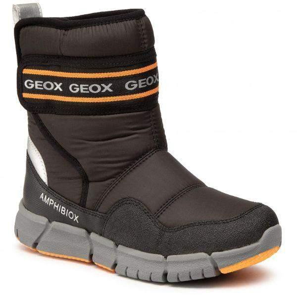 Geox Flexyper ABX Boys All Weather Waterproof Winter Boots -25C - ShoeKid.ca