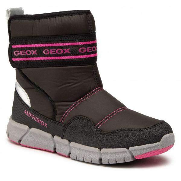 Geox Kids Flexyper ABX Girls All Weather Waterproof Winter Boots -25C - ShoeKid.ca