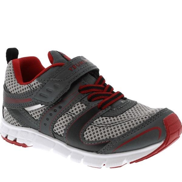 Boys Running Shoes - Tsukihoshi VELOCITY Boys Running Shoes / Graphite Red