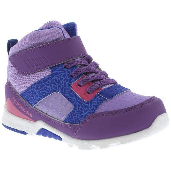 Girls Running Shoes - Tsukihoshi REPLAY WaterProof Boots (Toddler/Little Kid) Purple Lavender
