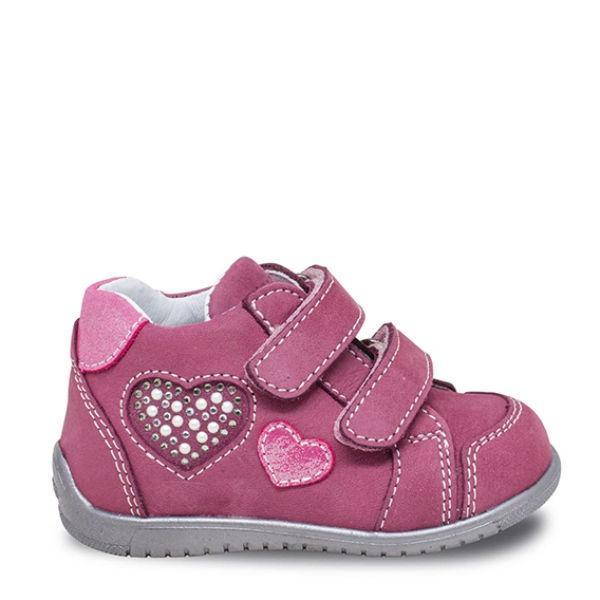 Girls First Walking Shoes - Ciciban Amaranto Infant/Toddler Leather Boots