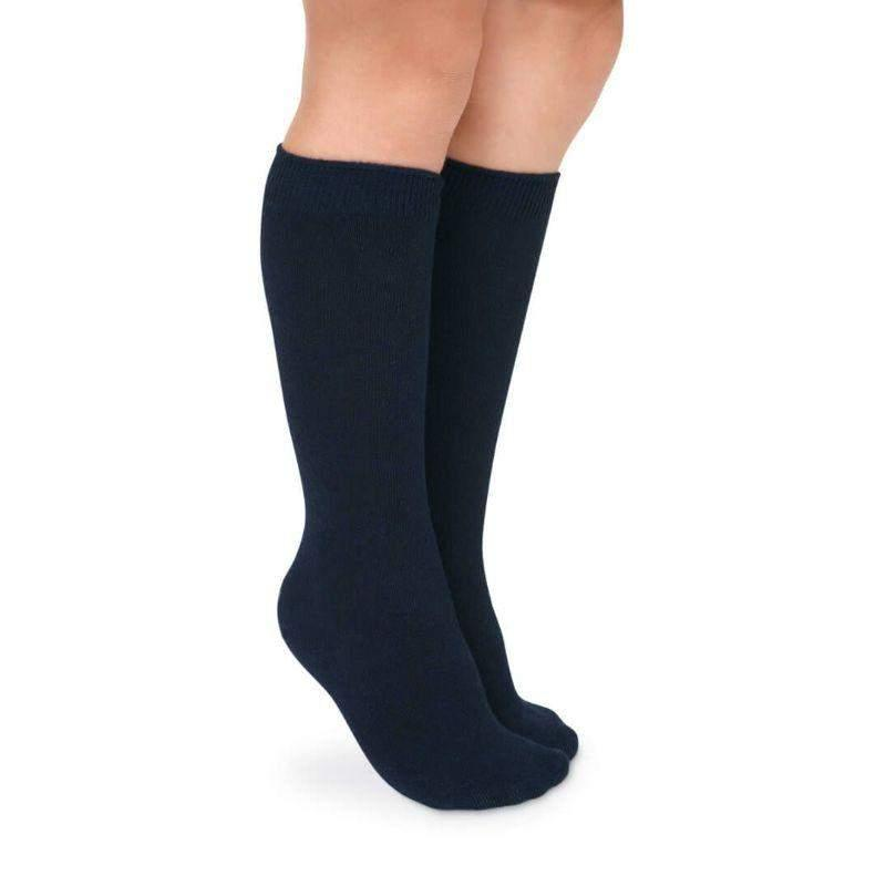 Jefferies Socks Seamless Toe Cotton Knee High Socks 2 Pair Pack - ShoeKid.ca