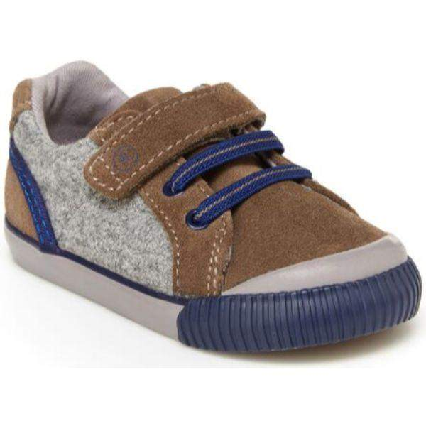 Stride Rite Boys SR Parker Brown Boys Toddler Shoes - ShoeKid Canada