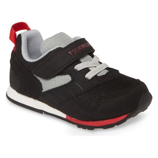 Boys Running Shoes - Tsukihoshi Racer Boys Running Shoes / Black / Red