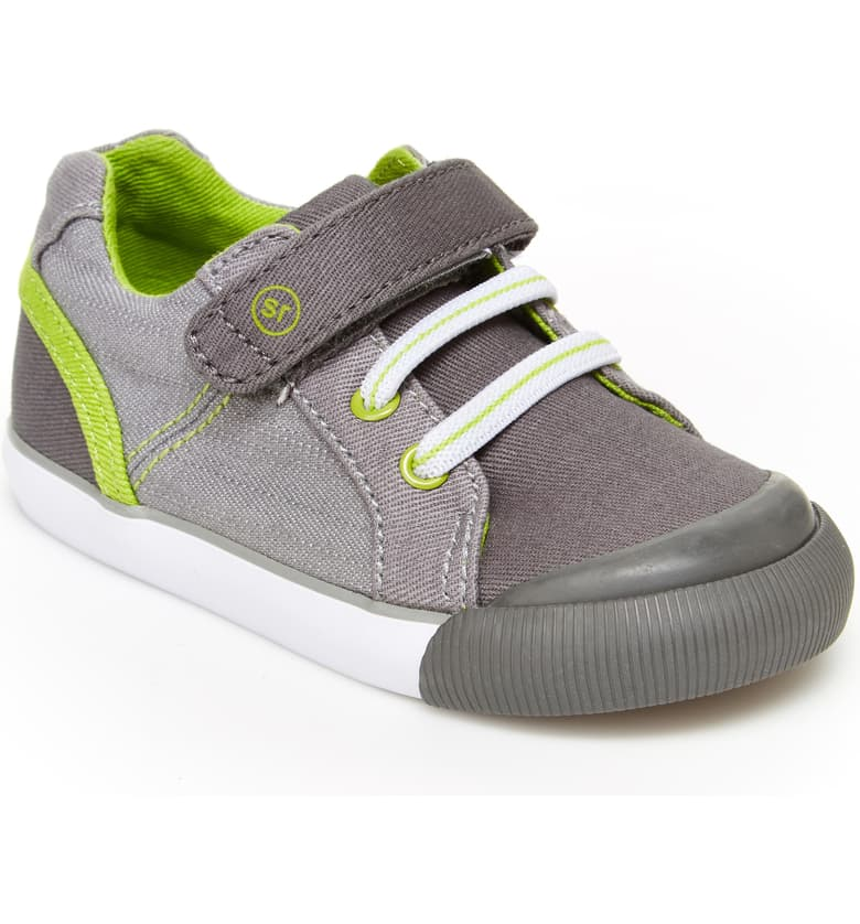 Stride Rite Parker Gray Boys Casual Shoes