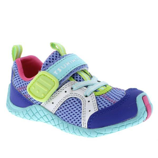 Girls Running Shoes - Tsukihoshi Marina Girls Running Shoes / Ice Mint / Toddler/Little Kids