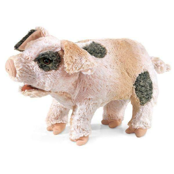 Folkmanis Grunting Pig Kids Hand Puppet