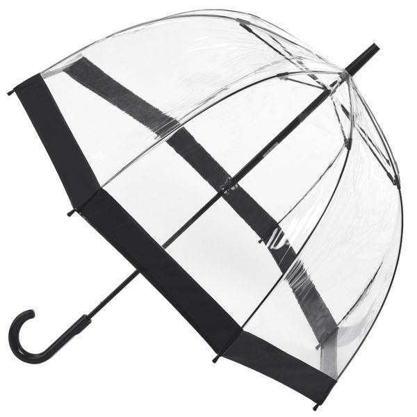 Fulton Clear Dome Kids Umbrella Black - ShoeKid Canada