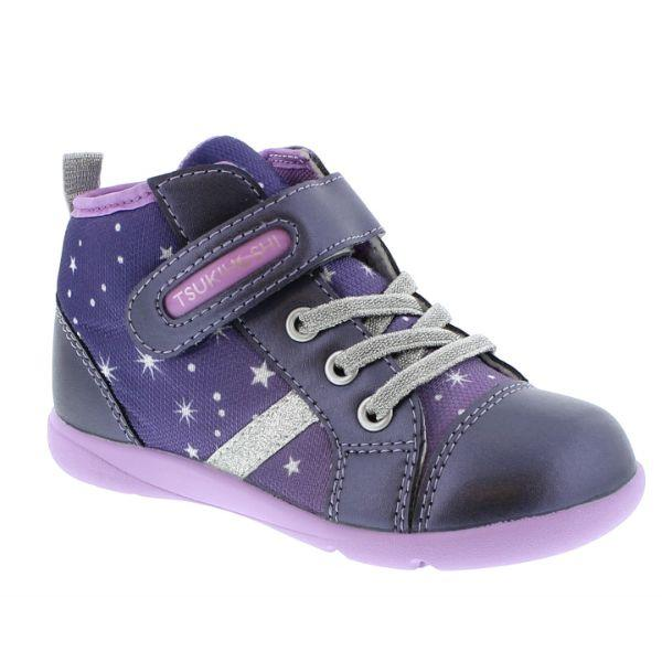 Girls Running Shoes - Tsukihoshi Star Toddler/Little Kids Boots Purple