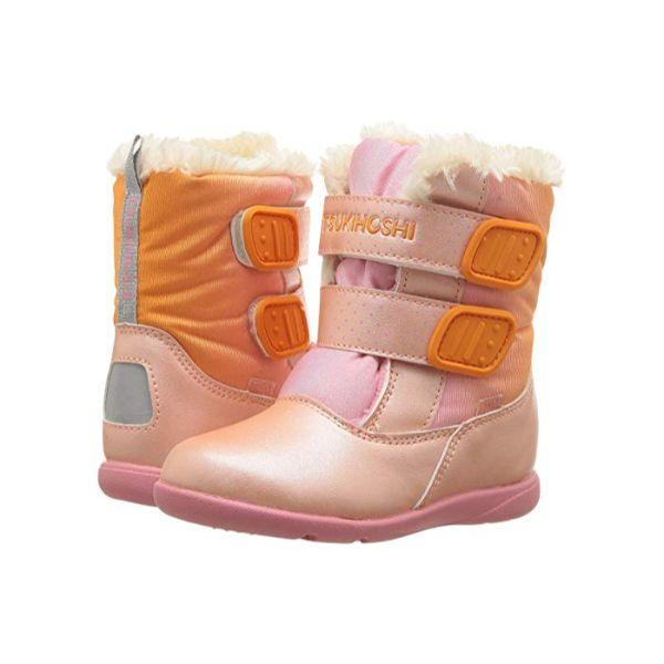 Girls Winter Boots - Tsukihoshi Teddy Girls Winter Boots / Toddler / Little Kids