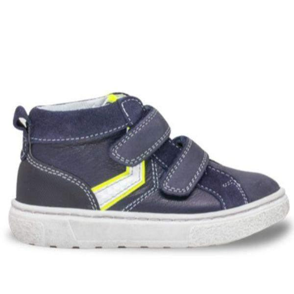 Balocchi 602732 Urban Blue Boys Leather Shoes (Ankle/Arch Support) - ShoeKid.ca