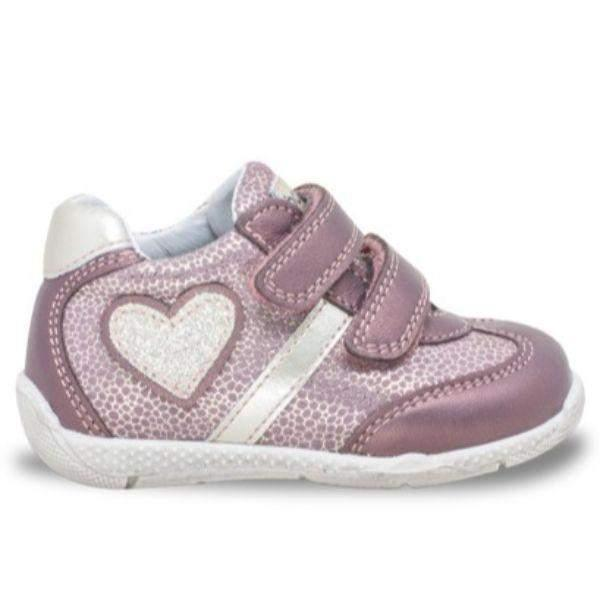 Balocchi 606176 Over PERVINCA Girls Toddler Leather Shoes (Ankle/Arch Support) - ShoeKid.ca