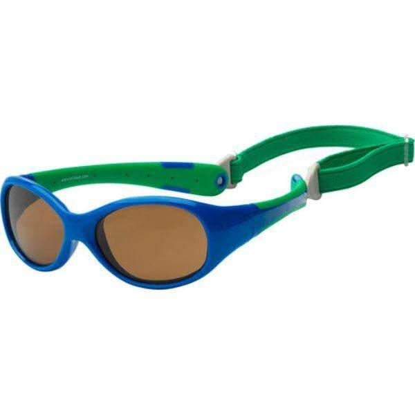 Koolsun Flex Kids Royal Green SunGlasses / UV400 Protection