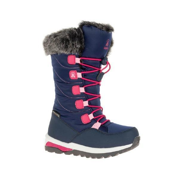 Kamik Prairie Girls Winter Boots / Kids / Waterproof / -40°C - ShoeKid Canada