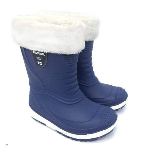KUOMA TIHKU Removable Fur Lined Rain Boots (Made in Italy)