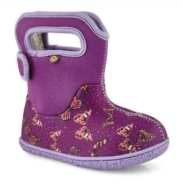 Baby Bogs Butterflies / Waterproof / -10C Warm - ShoeKid.ca