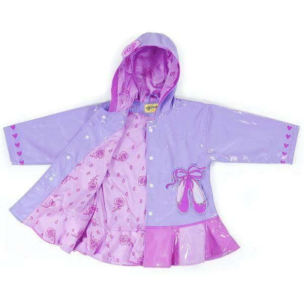 Kidorable Ballerina Kids Rain Coat