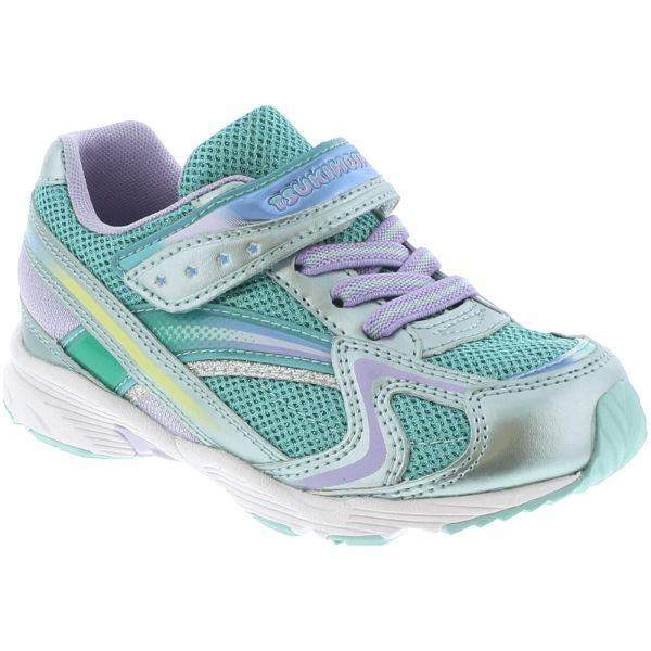 Girls Running Shoes - Tsukihoshi GLITZ Girls Running Shoes /Toddler/Little Kid /Mint / Lavender