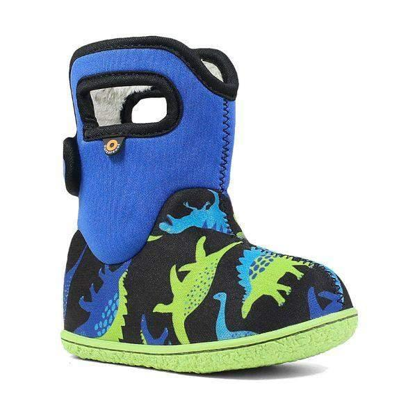 Bogs Baby Dino Solid Handles Waterproof Winter -10C - ShoeKid Canada