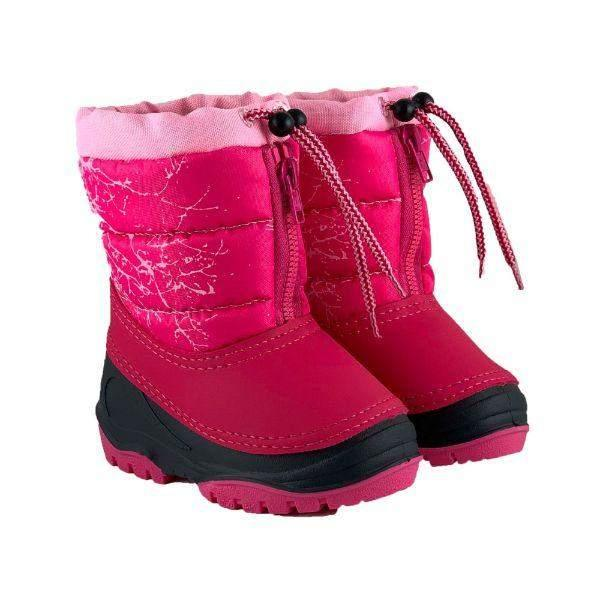 Alisa Kids Pink Alaska Mini Baby Toddler Winter Boots -25C