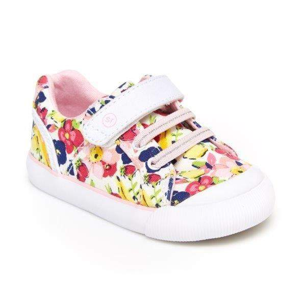 Stride Rite Parker Floral Multi Girls Casual Shoes