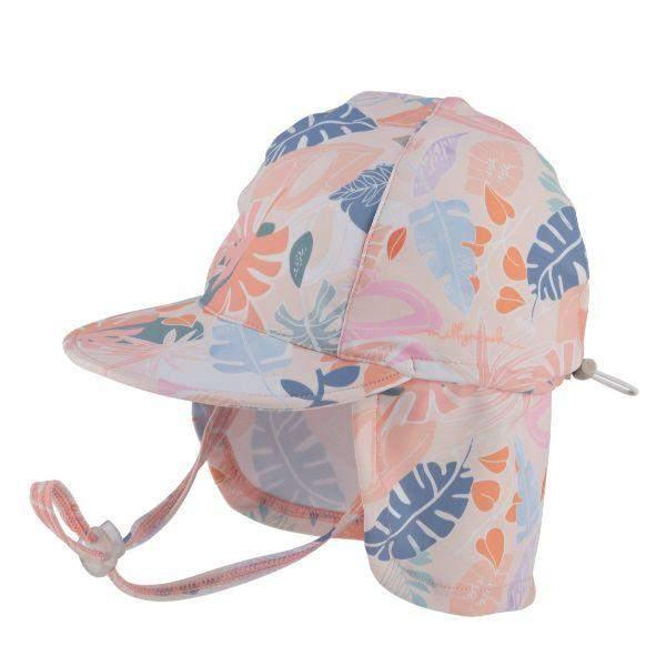 Millymook Kids Sun Hat Baby Girls Blush 50+UV Rating