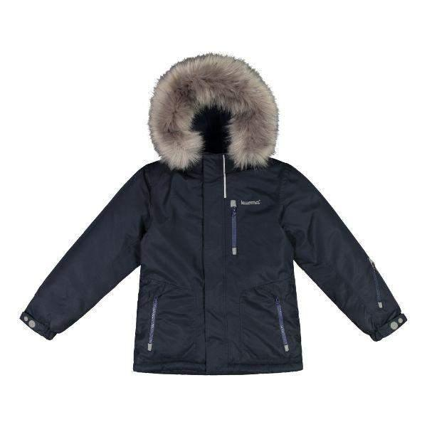 Kuoma Kids Winter jacket EINO Navy (Made in Finland)
