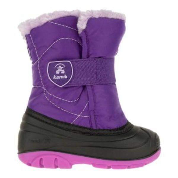 Kamik SnowBugF Toddler Girls Winter Boots Waterproof -23C