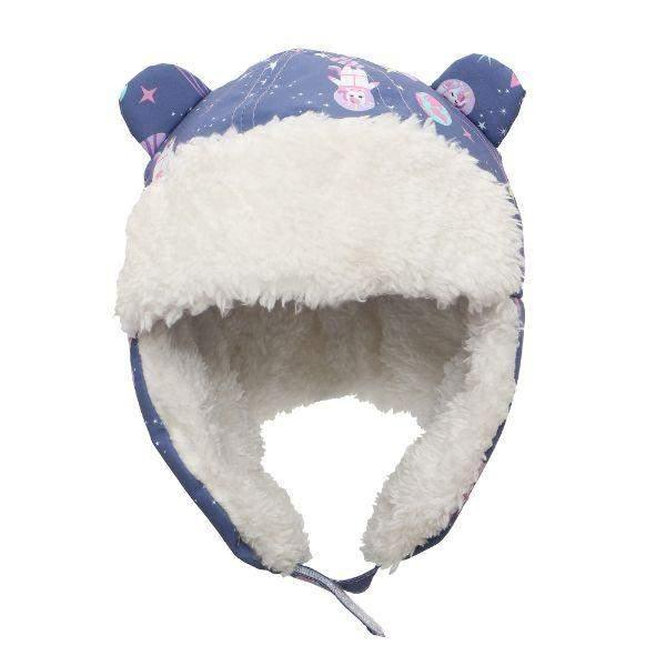 Flapjacks Water Repellent Trapper Hat Unicorn Indigo