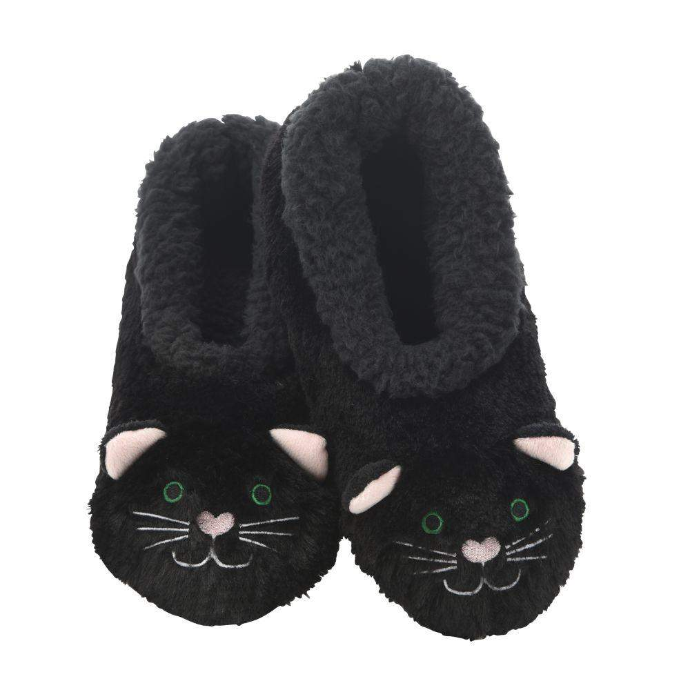 Snoozies Cat Furry Foot Pal Toddler/Kids/Youth Slippers
