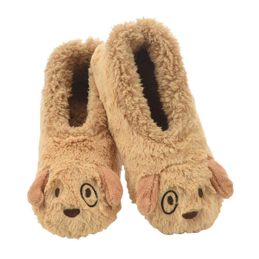 Snoozies Puppy Furry Foot Pal Toddler/Kids/Youth Slippers