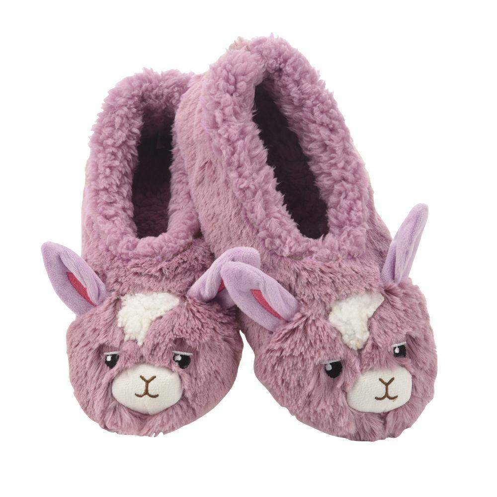 Snoozies Llama Furry Foot Pal Toddler/Kids/Youth Slippers