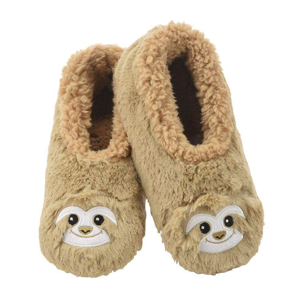 Snoozies Sloth Furry Foot Pal Toddler/Little/Big Kids Slippers
