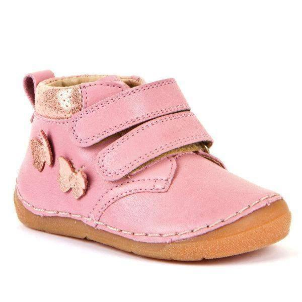Froddo G2130221-1 Pink Girls Leather Casual Shoes - ShoeKid.ca
