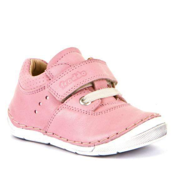 Froddo G2130223-6 Pink Girls Leather Casual Shoes - ShoeKid.ca