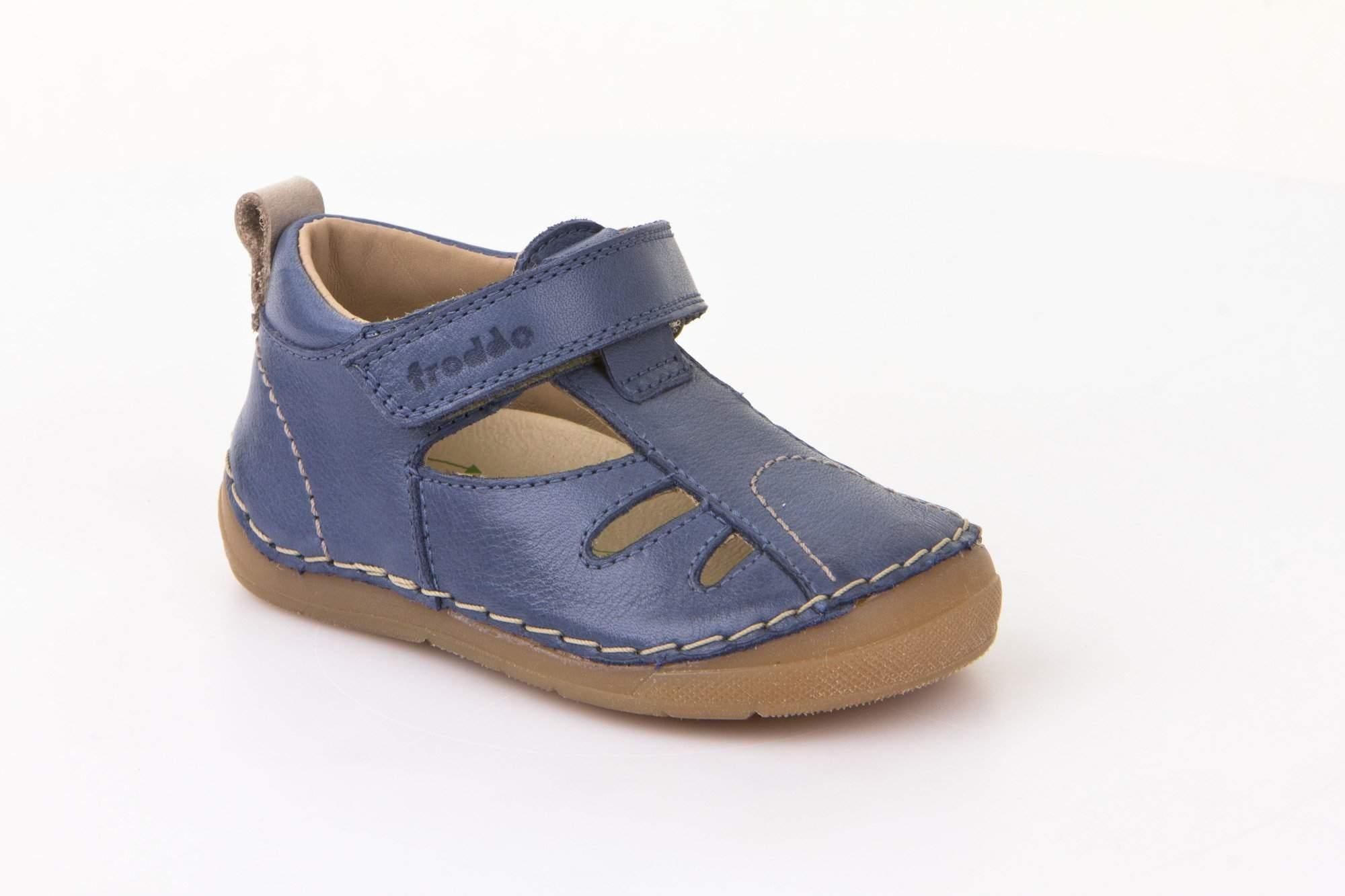 Froddo/G2150075-1/Denim/Boys  Leather Sandals /Toddler - ShoeKid.ca