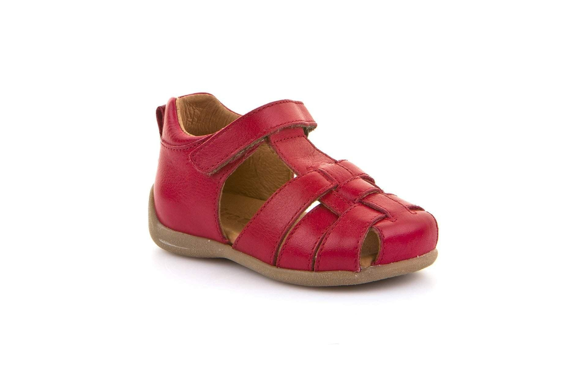 Froddo/G2150093-4/Red/Girls  Leather Sandals /Toddler - ShoeKid.ca
