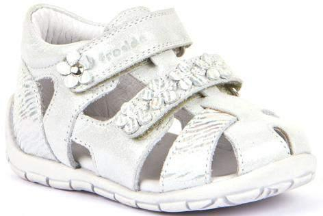 Froddo/G2150121-2/Silver/Girls  Leather Sandals /Toddler - ShoeKid.ca