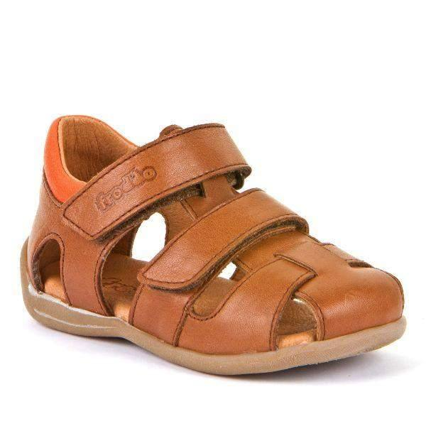 Froddo G2150131-3 Toddler Brown Leather Boys Sandals