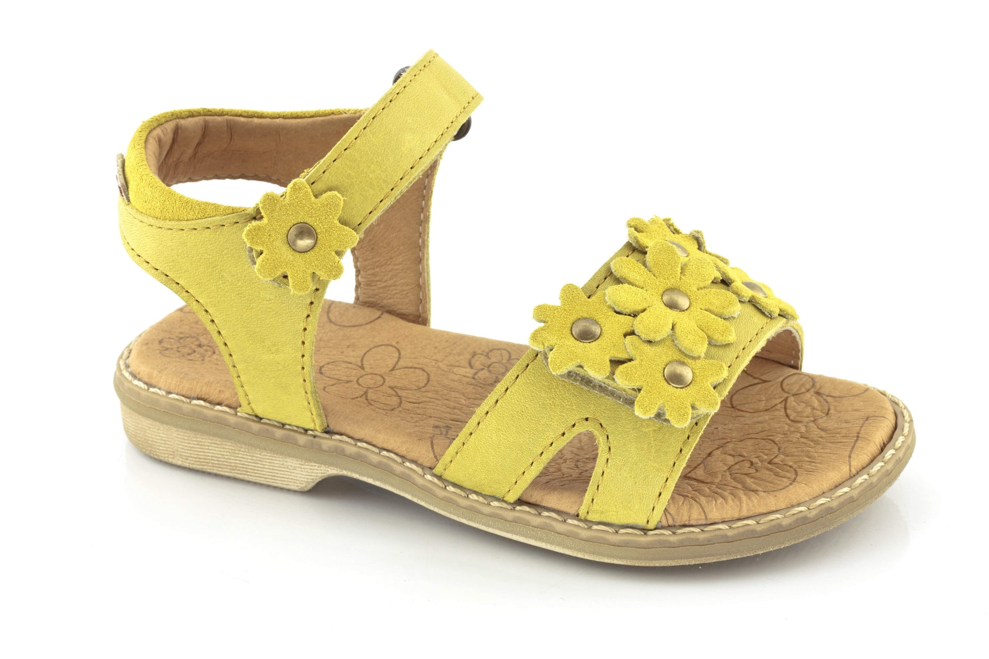 Froddo/G3150058-1/Yellow/Girls Leather Sandals - ShoeKid.ca