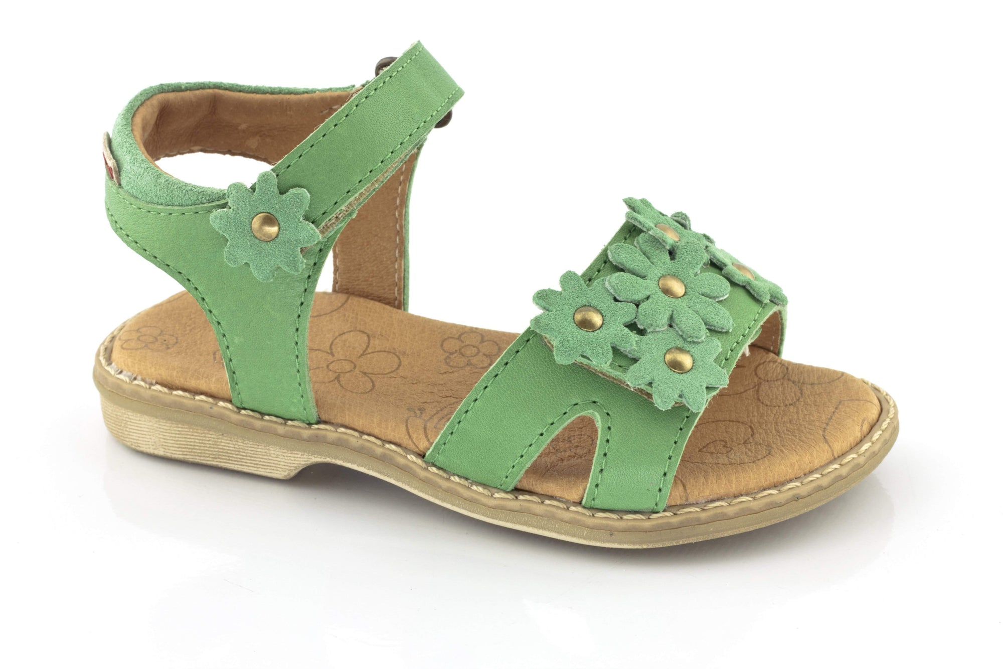 Froddo/G3150058/Green/Girls Leather Sandals - ShoeKid.ca
