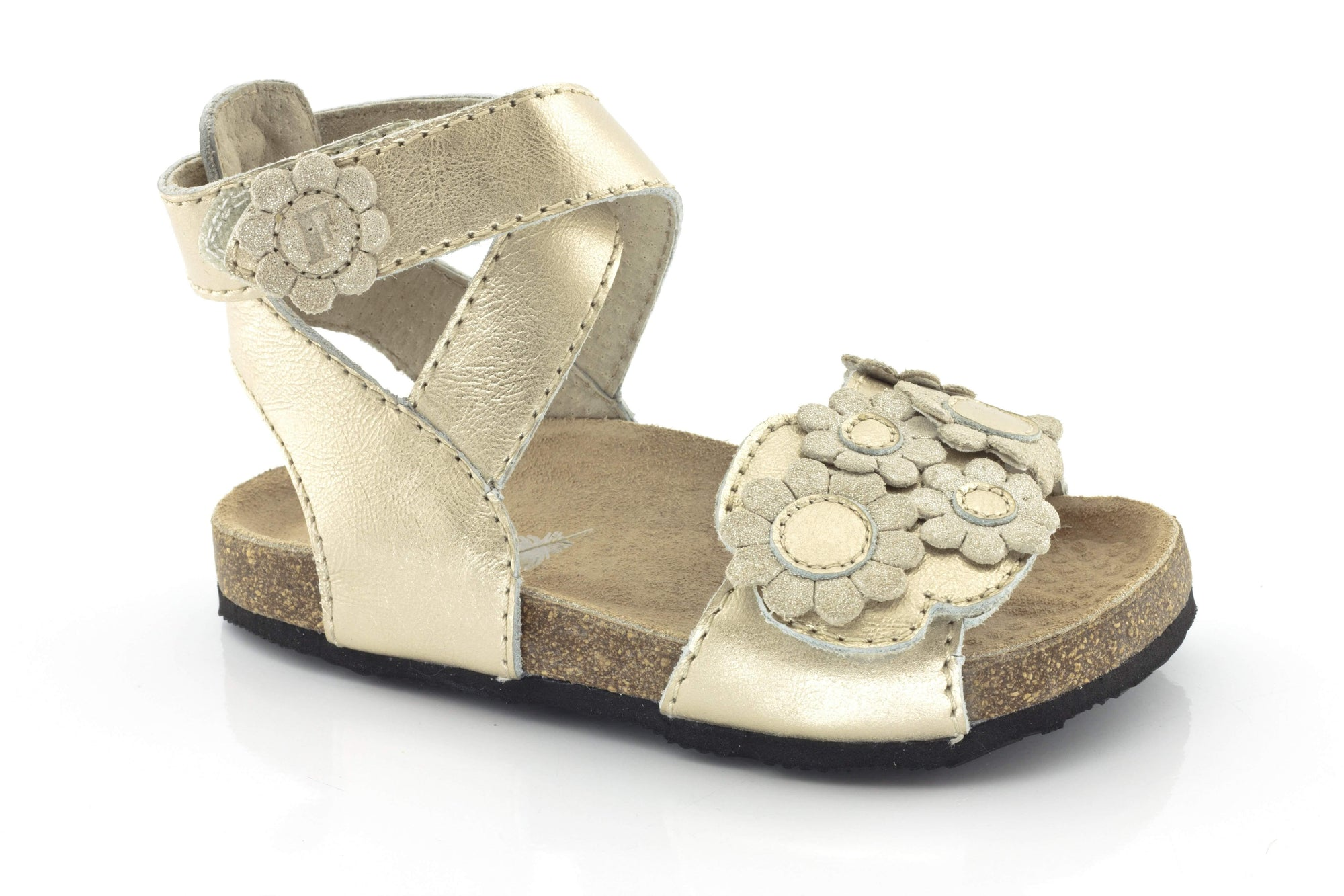 Froddo/G3150061-1/Gold/Girls Leather Sandals /Toddler - ShoeKid.ca