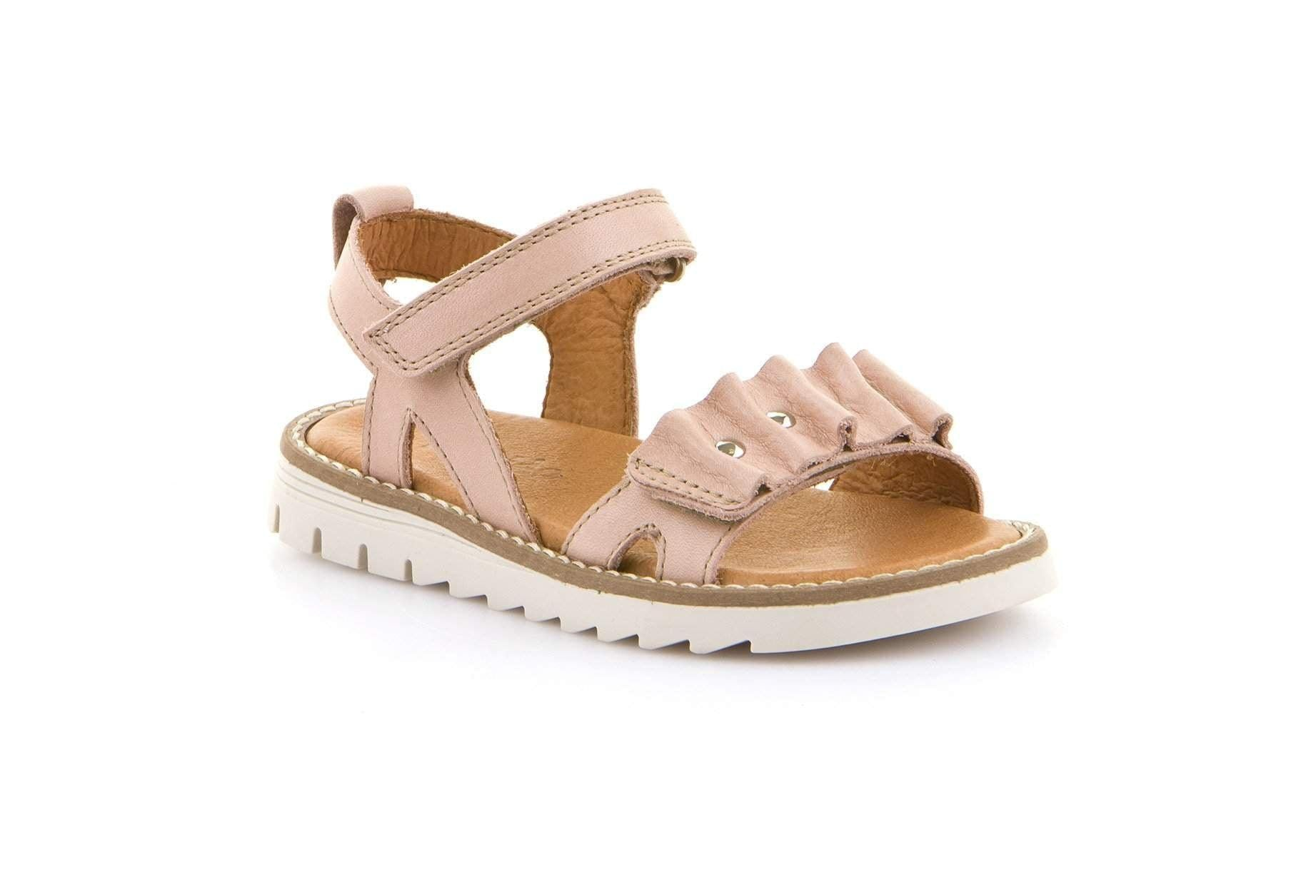 Froddo/G3150137-6/Nude/Girls Leather Sandals /Little Kid - ShoeKid.ca