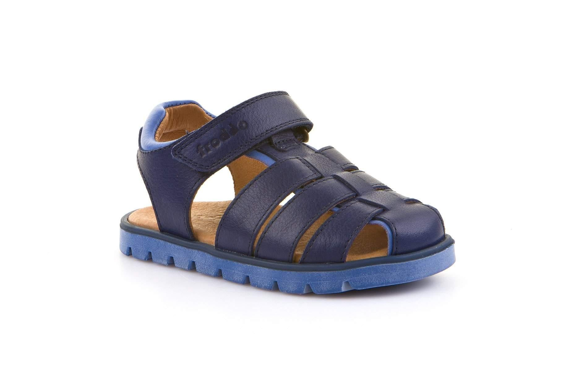 Froddo/G3150144/Navy/Boys Leather Sandals - ShoeKid.ca