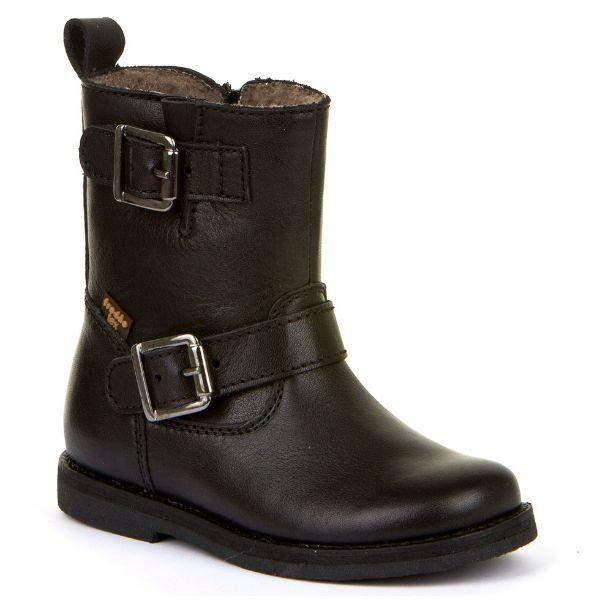 Froddo Fashion Girls Leather Boot 100% Waterproof Insulated - ShoeKid.ca