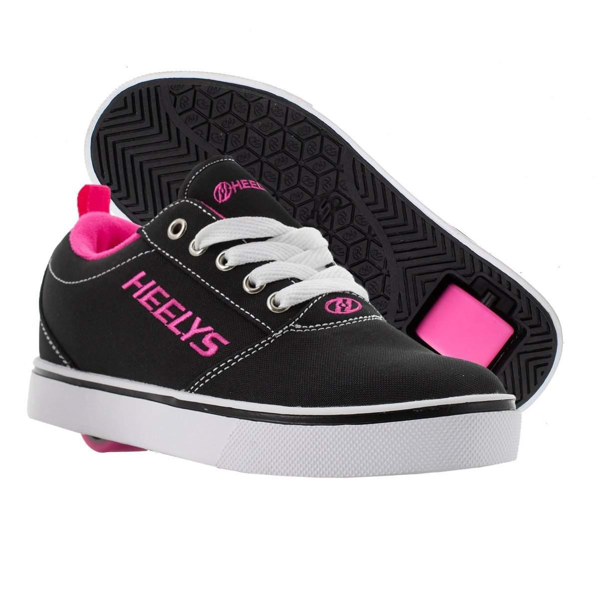 Heelys PRO 20 – Black/White/Pink/ Girls