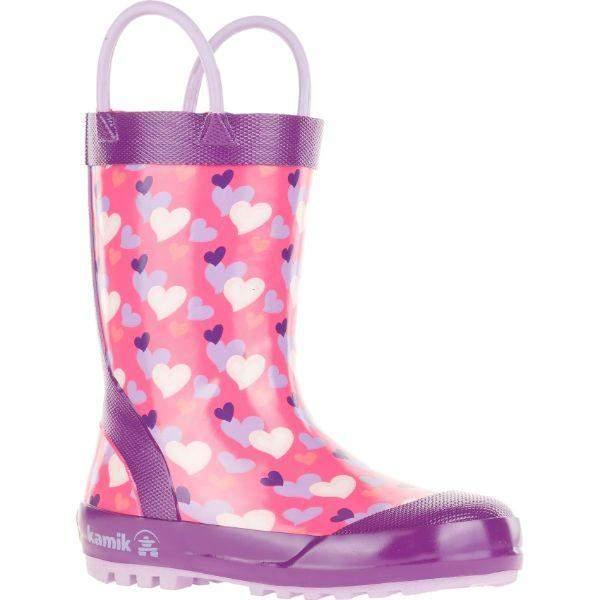 Kamik Kids Lovely Girls Toddler Little Kids Rain Boot