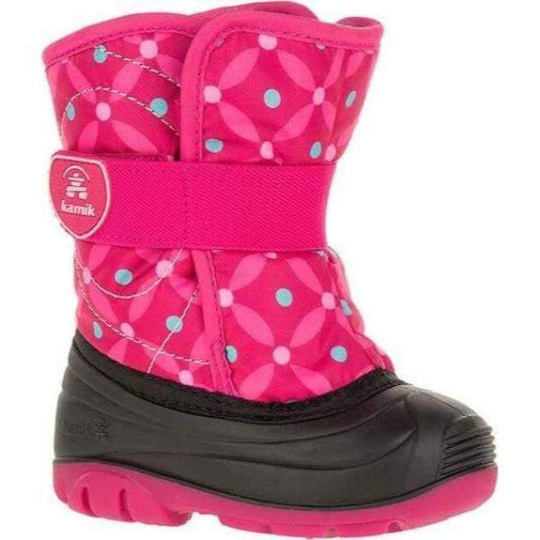 Kamik SnowBug4 Toddler Girls Waterproof Winter Boots -23C - ShoeKid.ca