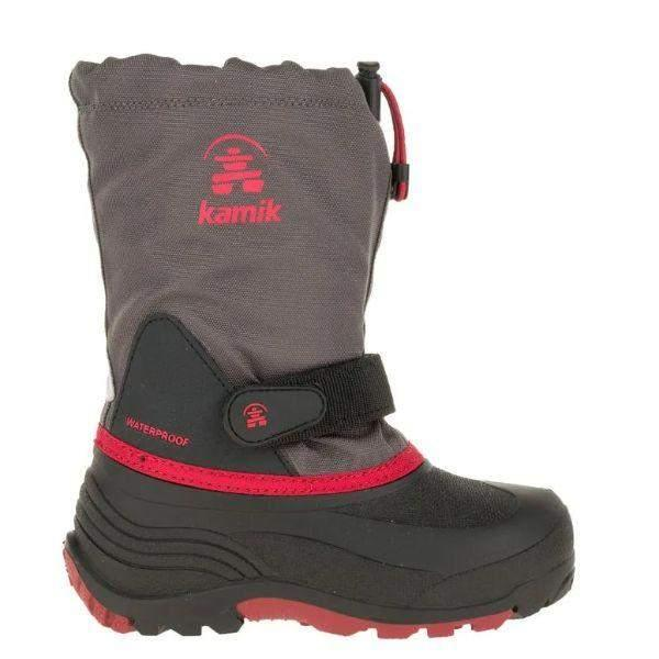 Kamik WATERBUG5 Boys Waterproof Winter Boots (Made in Canada)